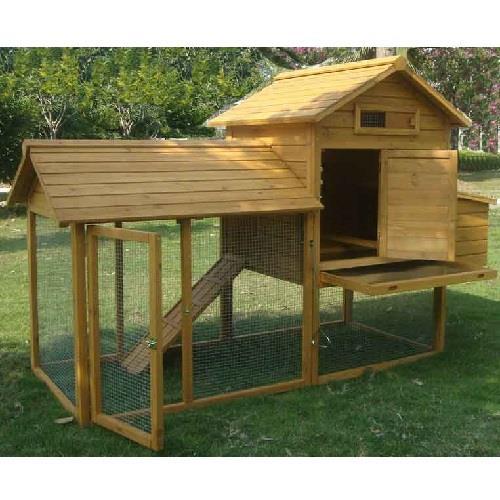 Pollai prefabbricati in legno linea completa il verde mondo - Recinti da giardino ...