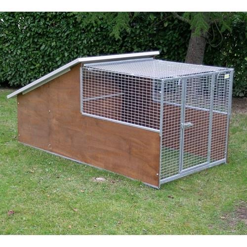 Prodotti e accessori per galline e animali da cortile for Box coibentati per cani usati