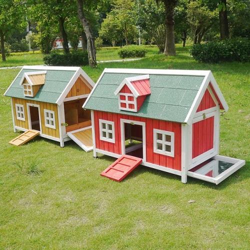 Pollaio in legno modello amburgo il verde mondo - Recinti in legno da giardino ...