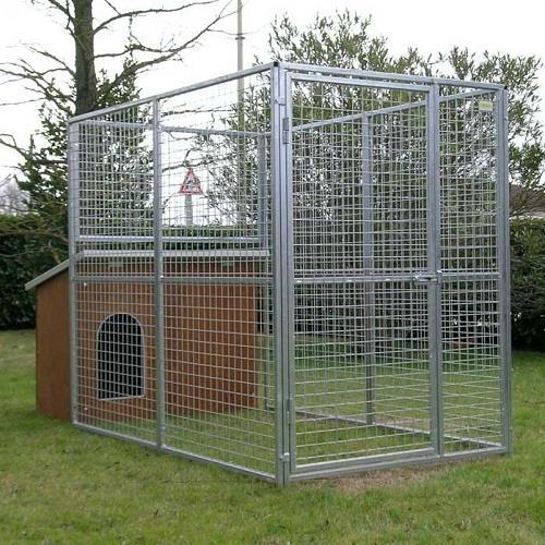 Box per cani modello labrador il verde mondo for Cancelletto per cani da esterno
