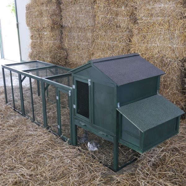 Pollaio in legno modello little chicken xxl - Recinti per giardino ...