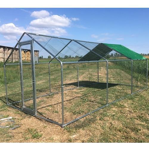 Recinto da giardino per animali domestici e da cortile 6x3 - Giardino per cani ...