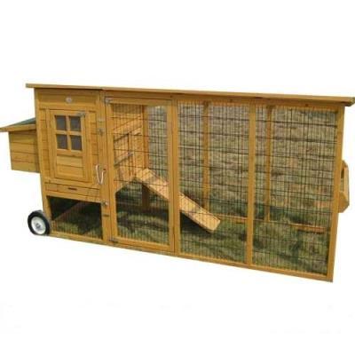 Pollai mobili in legno linea completa di pollai su ruote for Il mobile da giardino